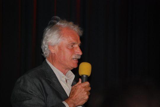 Yann-Arthus Bertrand stellt seinen Film vor