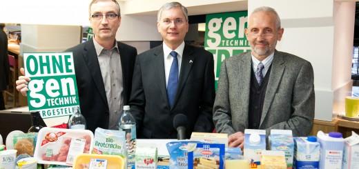 GF Florian Faber, BM Alois Stöger und Obmann Markus Schörpf