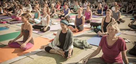 Yoga Picknick, Yuna Yoga, Mangolds, Karmeliterplatz,07.09.2013