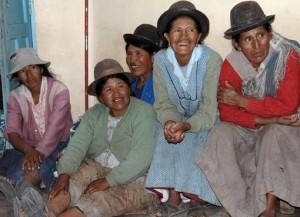Versammlung von Quinuabäuerinnen, Anapqui Bild: EZA Fairer Handel/Manfred Wimmer