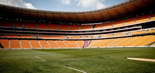 Nach der WM: Leeres Stadion in Johannesburg, Südafrika. Bild: flickr.com/eriktorner  – CC BY-NC-SA 2.0