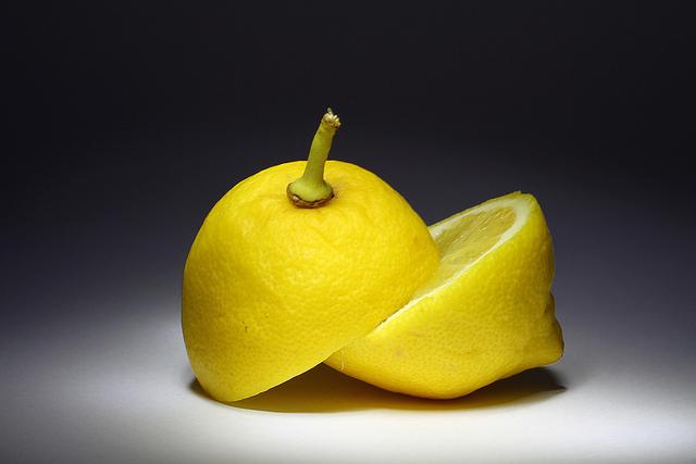 Zitrusfrüchte Zitrone