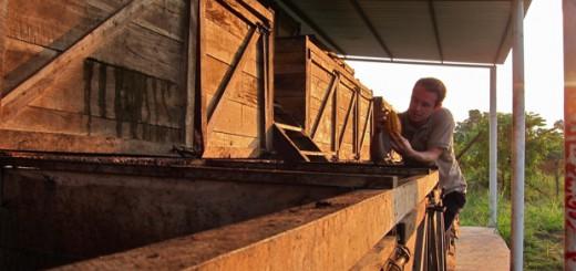 Auch Chocolatier Kevin fand die handwerklichen Prozesse bei UNOCACE faszinierend.