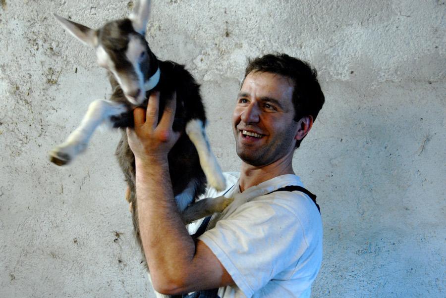 Wie kommt der Bio-Rohmilchkäse von der Alpbachtaler Ziege ins nächstgelegene Bio-Hotel? Bild: Jürgen Schmücking
