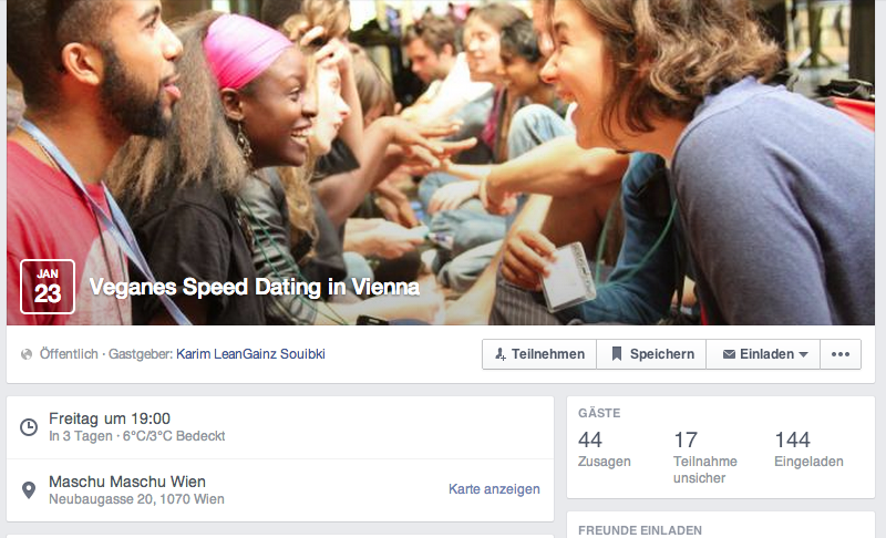 Speed dating wien studenten