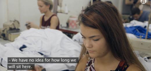 """Bild: Screenshot aus """"Sweatshop: Dead Cheap Fashion"""" Ep. 3 - Aftenposten.no"""