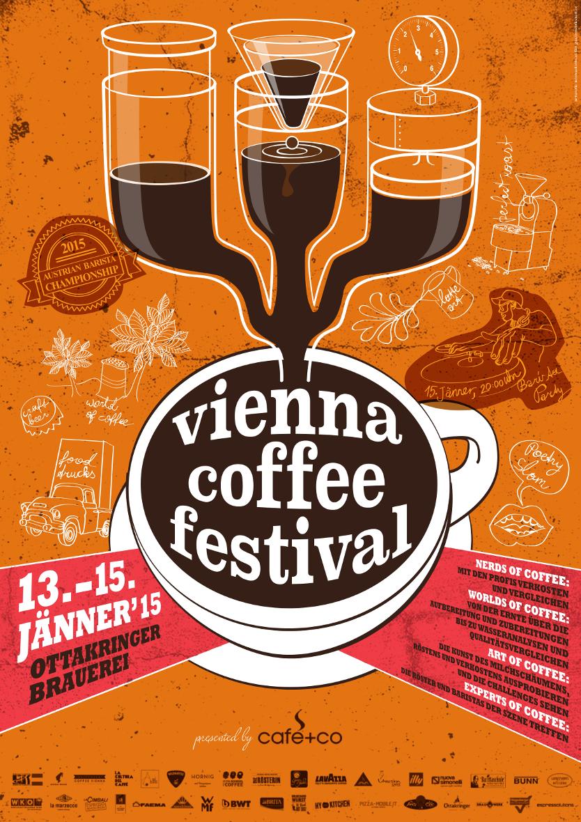 Vienna Coffee Festival 2015: Kleine Bohne groß im Mittelpunkt