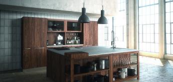 so k nnten die k chen der zukunft aussehen biorama. Black Bedroom Furniture Sets. Home Design Ideas
