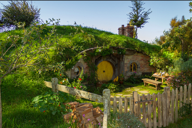 Sims  How To Build A Hobbit Hole