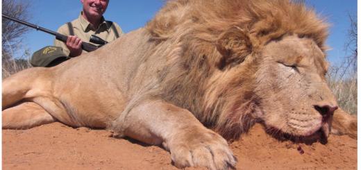 """Screenshot mit """"Trophäe"""" von der Seite des Jagd-Anbieters."""