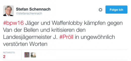 Auf Twitter fasst Stefan Schennach, Bundesrat der SPÖ, die Diskussion aus seiner Sicht zusammen.