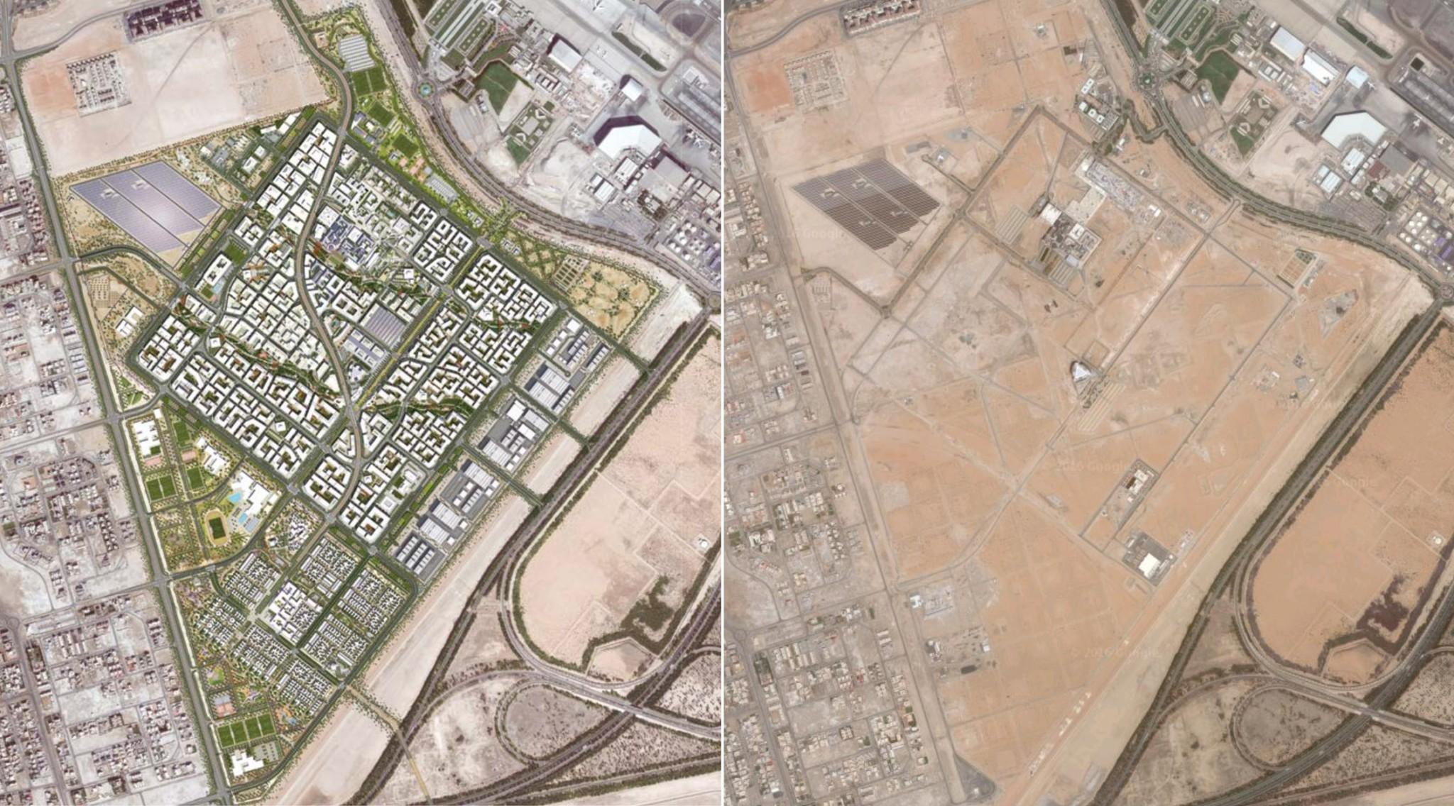 Masdar City: Plan and Reality