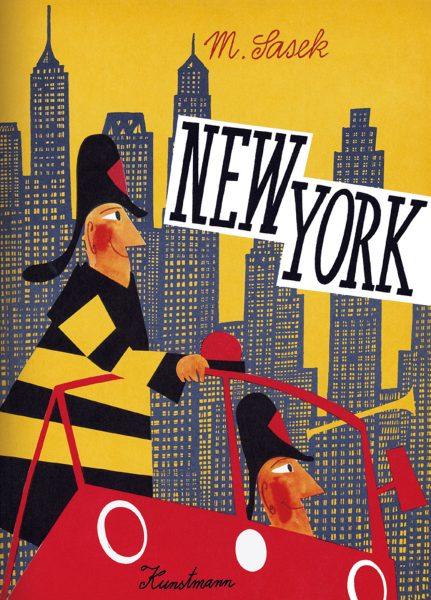 """© Miroslav Sasek """"New York"""", Verlag Antje Kunstmann"""