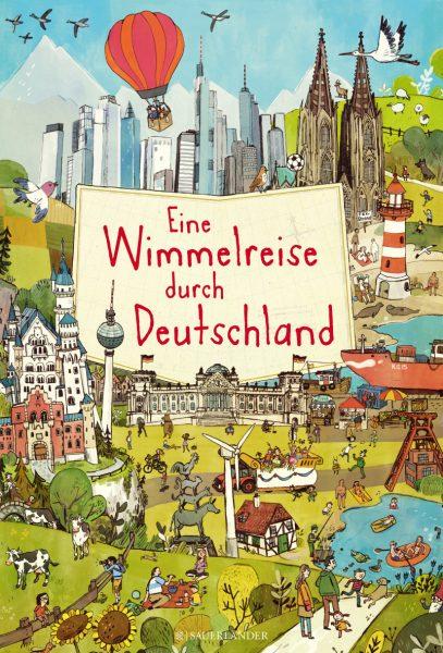 Eine Wimmelreise durch Deutschland von Brigitte Hoffmann © S. Fischer Verlag GmbH, Frankfurt am Main 2016