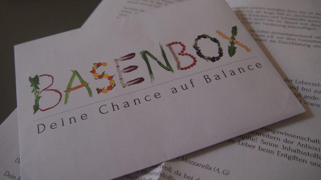 Basenbox, Basische Ernährung