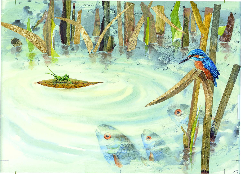 """Aus: """"Zehn Blätter fliegen davon"""" von Anne Möller, © 2016 Atlantis Verlag"""