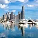 Das ist übrigens Panama City.