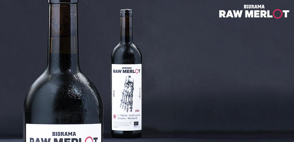 Wenige hundert Flaschen nur gibt es von diesem BIORAMA Raw Merlot, den wir gemeinsam mit Leserinnen und Demeter-Winzer Reinhard Weninger von der Rebe in die Flasche gebracht haben.