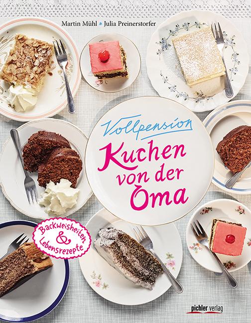 """Im Wiener Kultlokal Vollpension gibt's """"Kuchen von der Oma"""" – und seit kurzem im gleichnamigen Koch-Backbuch auch die entsprechenden Rezepte. Dokumentiert von Martin Mühl und Julia Preinerstorfer."""