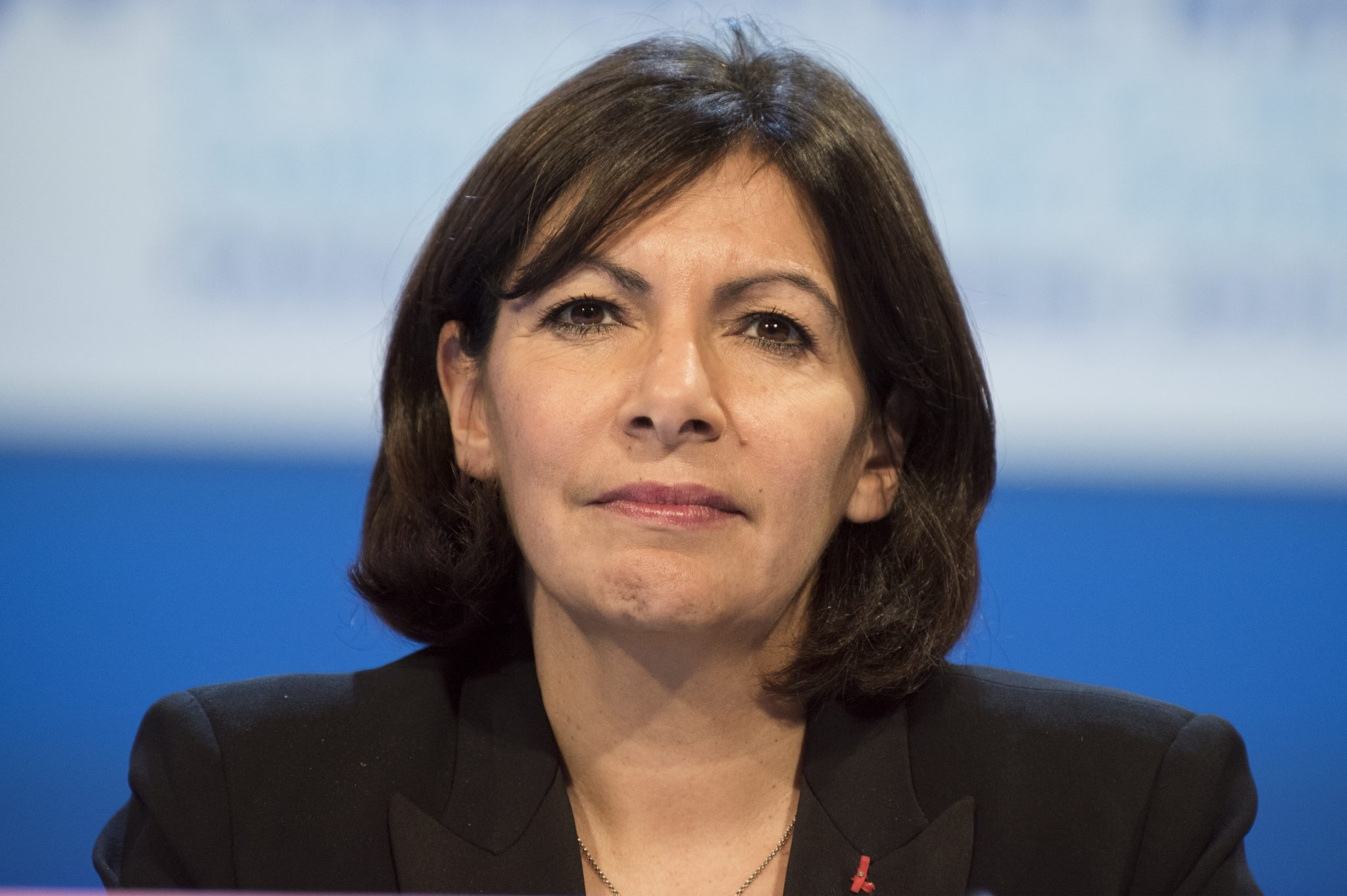Paris Grün Anne Hildago
