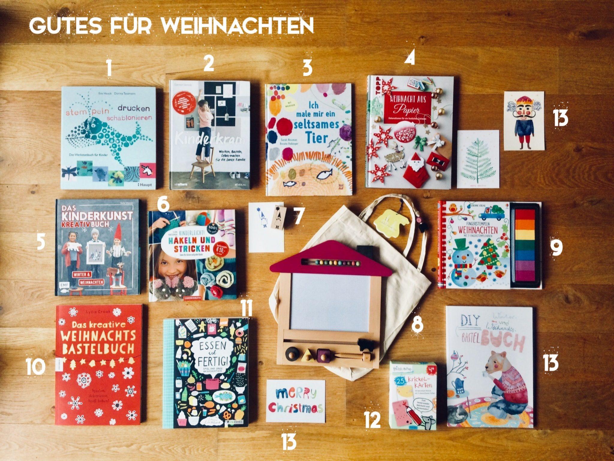 Gutes Fur Weihnachten Malen Basteln Selbermachen Biorama