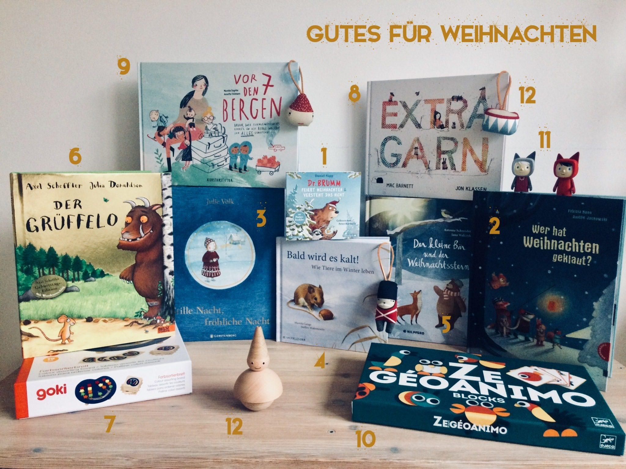 Gutes für Weihnachten – Geschenkideen für Kinder von 3 bis 6 | BIORAMA