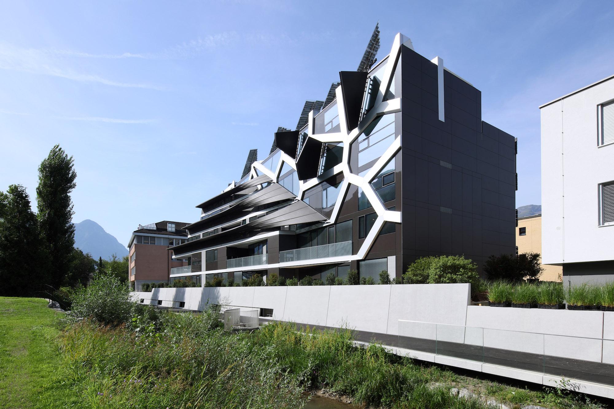 Haus als Hightech-Organismus: nachhaltige Architektur