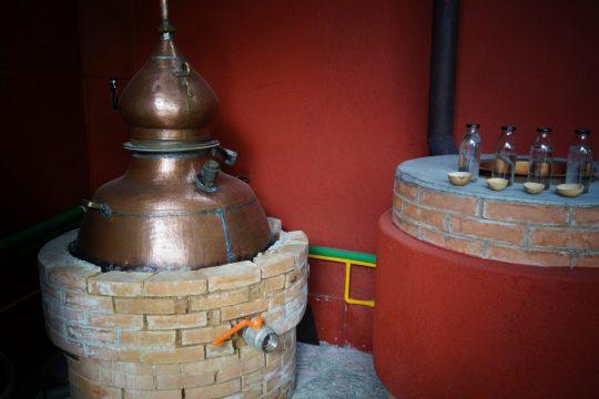 Wird Mezcal in einer Kupferbrennblase destilliert, handelt es sich um Mezcal Artesanal.